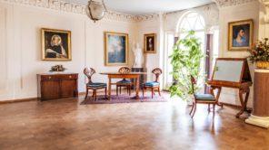 Czytaj więcej o: Wnętrza pałacowe – Muzeum Dzieduszyckich w Zarzeczu