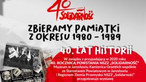 """Solidarność"" 40. lat historii"