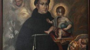 Na zdjęciu wizerunek św. Antoniego, jednego ze świętych, do którego pieśń zabrzmi na sobotnim koncercie.